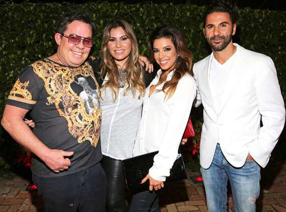 JR Ridinger, Loren Ridinger, Eva Longoria, Jose Antonio Baston