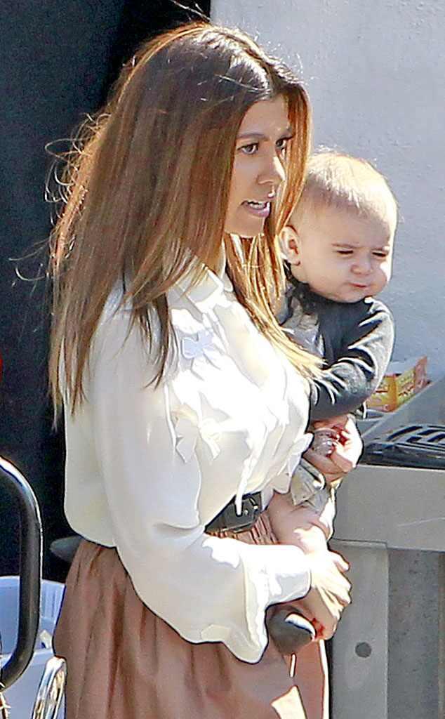 Kourtney Kardashian, Penelope Scotland Disick