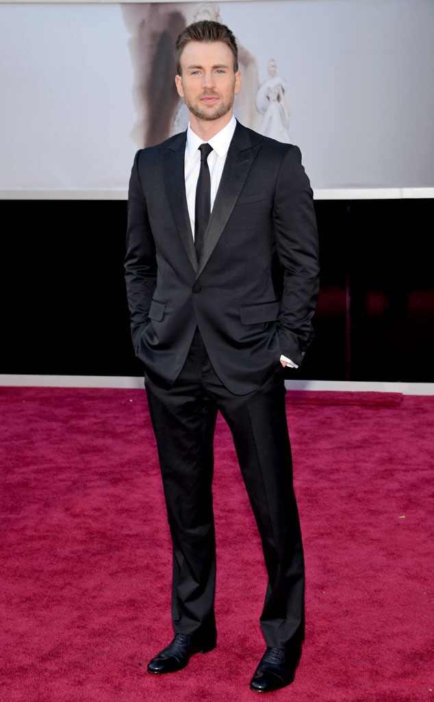 Chris Evans, Oscars 2013