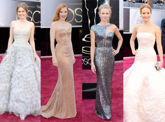 Oscars 2013, Best Dressed: Amy Adams, Jennifer Lawrence, Naomi Watts, Jessica Chastain