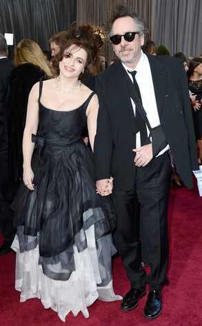 Helena Bonham Carter, Tim Burton, Oscars 2013
