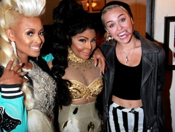Miley Cyrus, Tiffany Foxx, Lil Kim