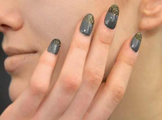 Red Carpet Manicure Nails