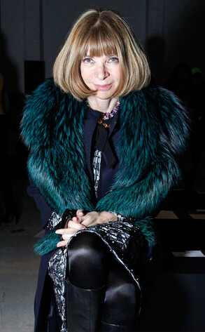 Anna Wintour, Mercedes-Benz Fashion Week