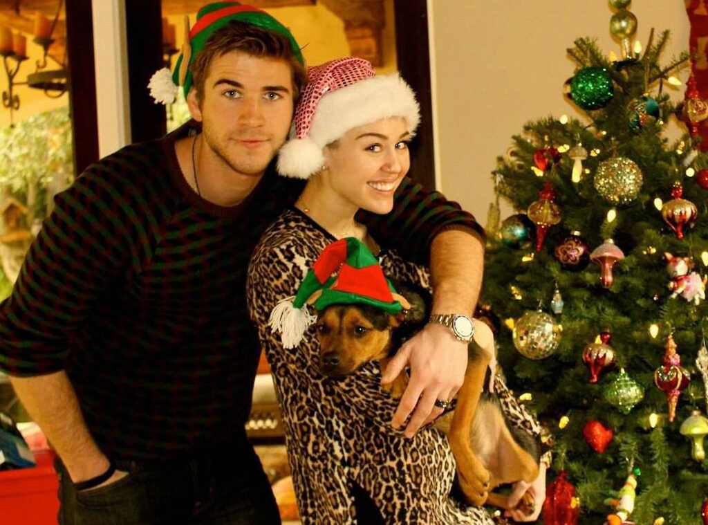Photograph Movie Pinterest: Chrismas Card! From Miley Cyrus & Liam Hemsworth: Romance