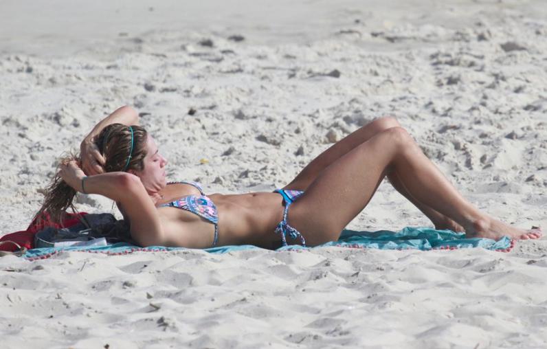 Giovanna Ewbank, corpo, praia