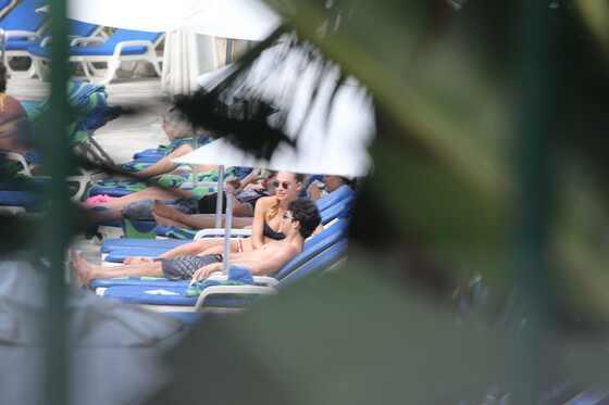 Jonas Brothers, Joe Jonas, Kevin Jonas, piscina