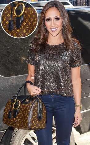 Melissa Gorga, Louis Vuitton Classic Handbag
