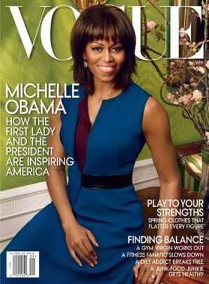 Michelle Obama, Vogue