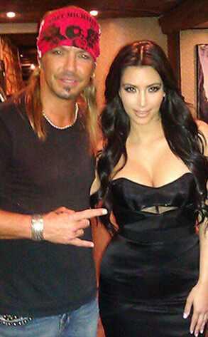 Bret Michaels, Kim Kardashian