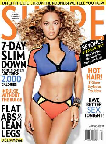 Beyonce, Shape Magazine