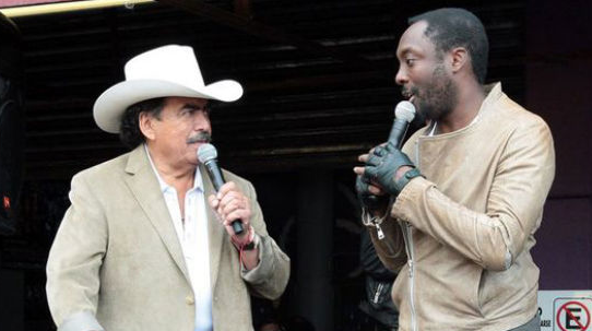 Will.I.am, Joan Sebastian