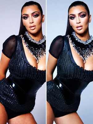 Kim Kardashian, Revista W