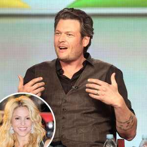 Blake Shelton, Adam Levine, Christina Aguilera, Shakira