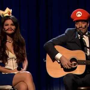 Selena Gomez, Jimmy Fallon