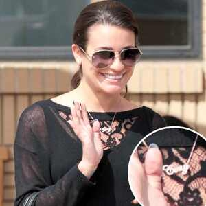 Lea Michele, Cory Necklace