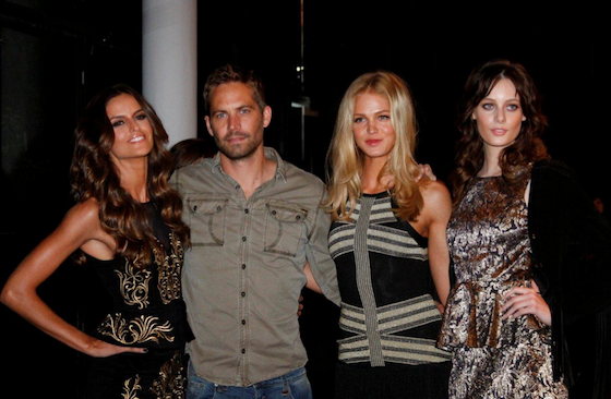 Paul Walker, Izabel Goulart, SPFW