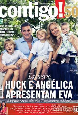 Eva, filha de Luciano Huck e Angélica
