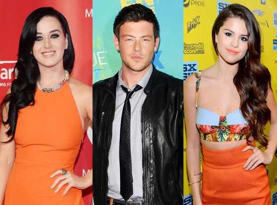 Selena Gomez, Katy Perry, Cory Monteith