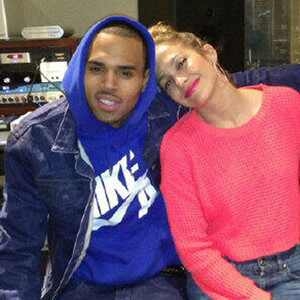 Chris Brown, Jennifer Lopez, Twit Pic
