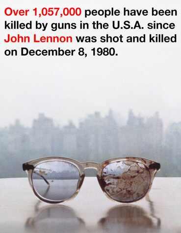 Yoko Ono, John Lennon Glasses