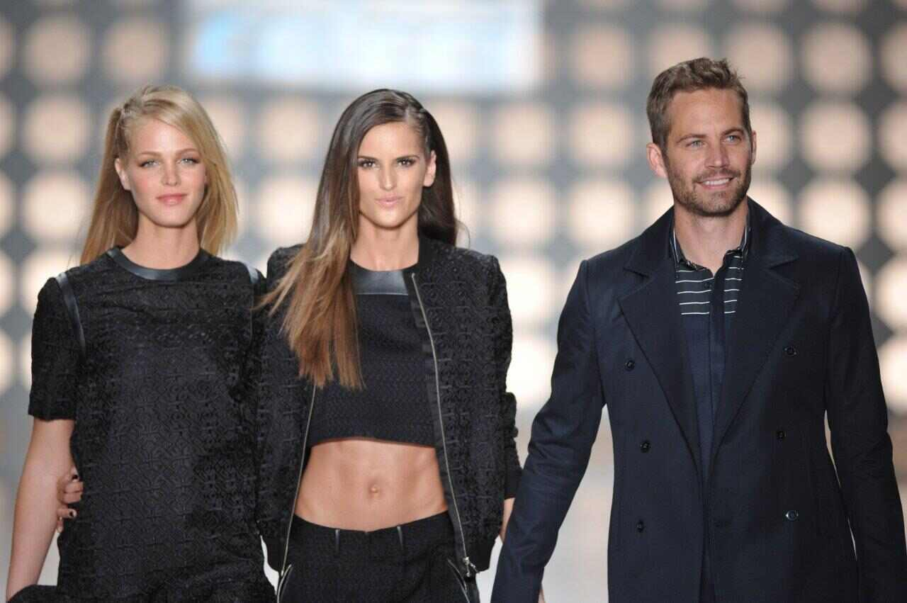 Paul Walker, Izabel Goulart, Erin Heatherton, SPFW