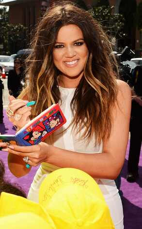Khloe Kardashian Odom, Kids Choice Awards