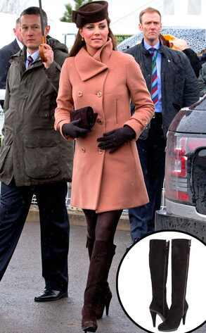 Catherine, Duchess of Cambridge, Kate Middleton, Stuart Weizman Boots