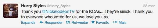 Harry Styles Twitter