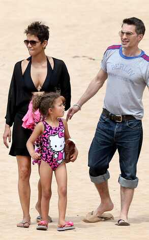 Halle Berry, Olivier Martinez, Nahla, Hawaii