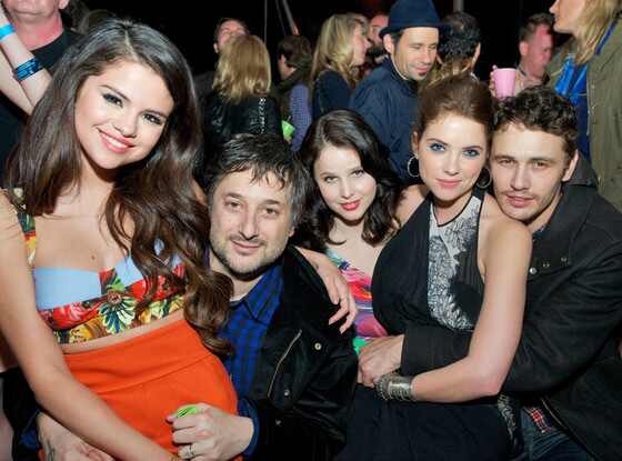 Selena Gomez, Harmony Korine, Rachel Korine, Ashley Benson, James Franco
