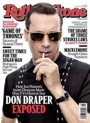 Jon Hamm, Rolling Stone