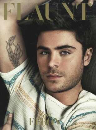 Zac Efron, Flaunt Magazine