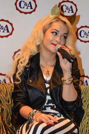 Rita Ora em São Paulo