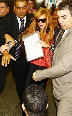 Lindsay Lohan, Rio