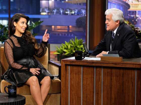 Kim Kardashian, Jay Leno