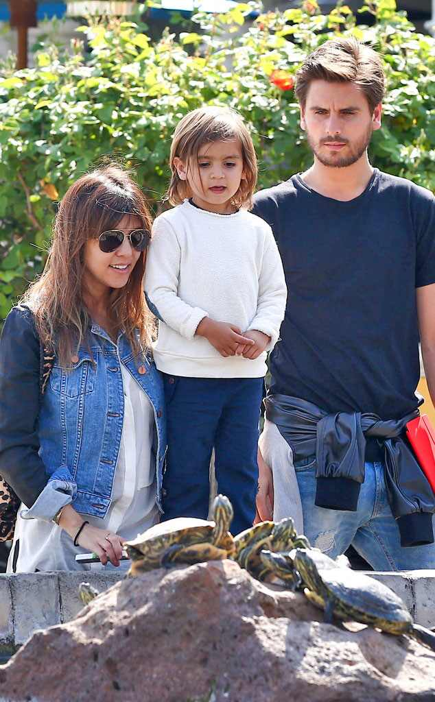 Kourtney Kardashian, Scott Disick, Mason