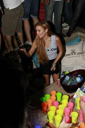 Lindsay Lohan, Brasil, balada