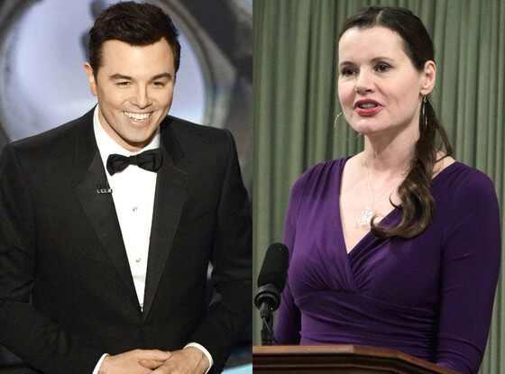 2013 Oscars Show, Seth MacFarlane, Geena Davis