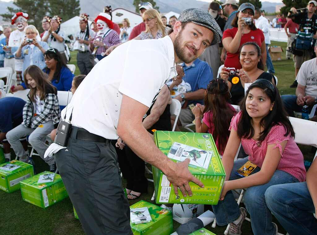 Justin Timberlake, Shriners Hospitals for Children Open golf Tournament