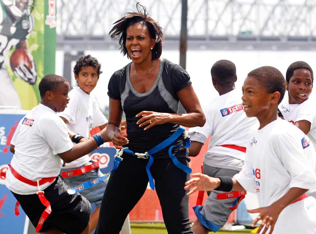 Michelle Obama, NFL, Let's Move