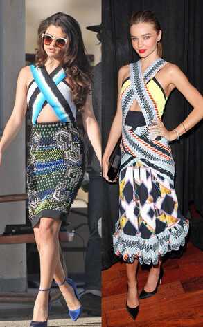 Selena Gomez, Miranda Kerr