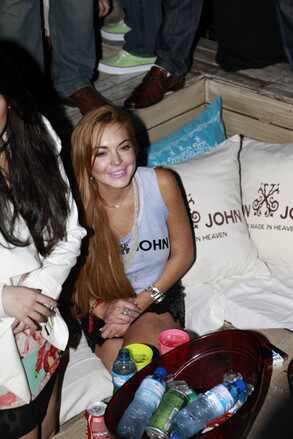 Lindsay Lohan em Floripa