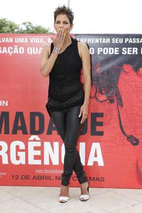 Halle Berry no Rio de Janeiro
