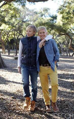 Elle Decor, Ellen DeGeneres, Portia de Rossi