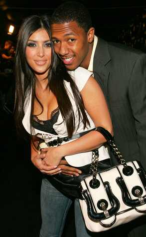 Kim Kardashian, Nick Cannon, Odd Couple