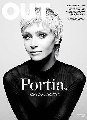 Portia de Rossi, OUT Magazine