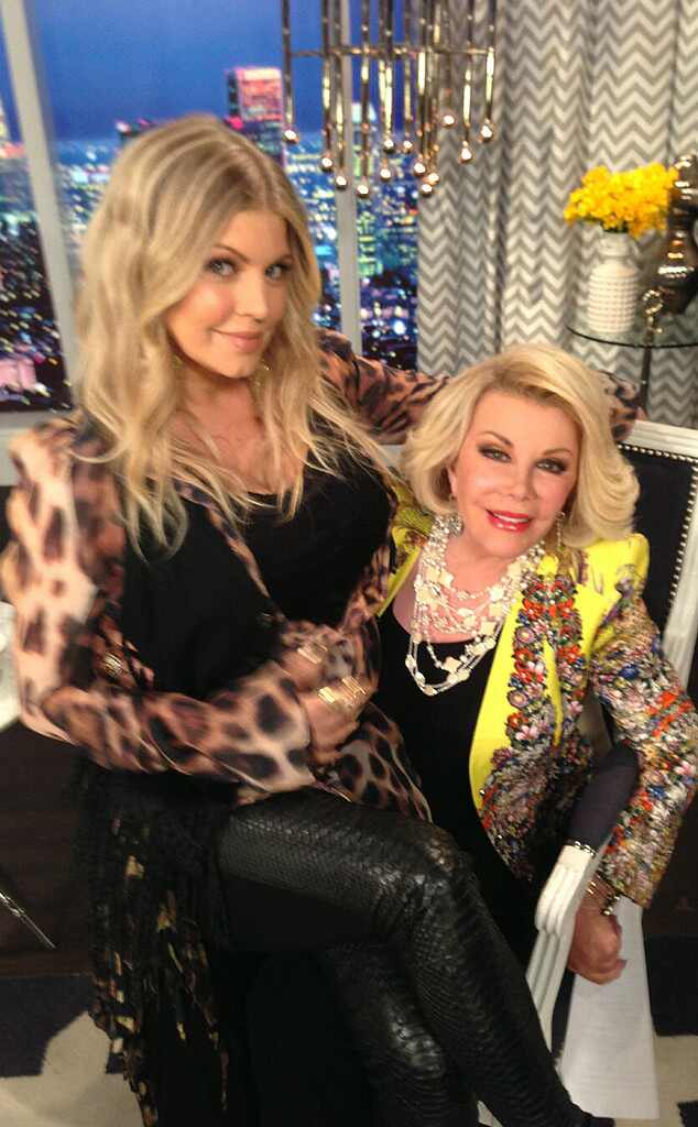 Joan Rivers, Fergie