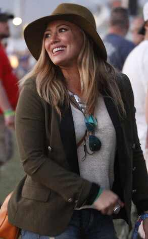 Hilary Duff, Coachella, 2013