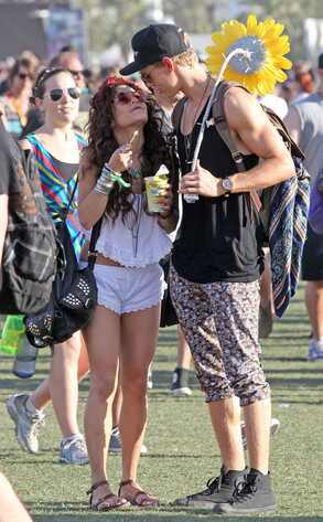 Vanessa Hudgens, Austin Butler, Coachella 2013